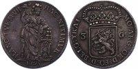 3 Gulden (Batav. Rep.) 1795 Niederlande - Utrecht  ss-vz  300.74 £ 385,00 EUR