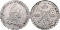 Kronentaler 1797 B RDR Franz II./I. (1792 - 1830) Rev. min. just., f.vz  132.53 £ 167,00 EUR  +  7.86 £ shipping