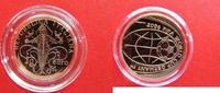 Italien 20 Euro zur Fussball WM 2006 Deutschland - Ausgabe 2004 - Gold - selten - kleine Auflage