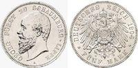 5 Mark 1904 A Schaumburg-Lippe Fürst Georg...