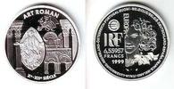 Frankreich 6,55957 Francs = 1 Euro Stilrichtungen der europäische Architektur - Romanik
