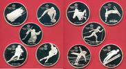 Kanada 10 x 20 Dollars Winter Olympic Games 1988 Calgary, complete set of 10 coins