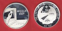 Laos 50 Kip Fußball WM USA 1994, Television