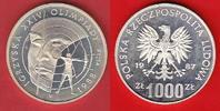 Polen 1000 Zloty Olympiade Seoul, Bogenschütze - Probe