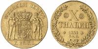 10 Taler - äußerst seltene Variante ohne Stern 1834 Braunschweig, Herzo... 5040.76 £ 6500,00 EUR