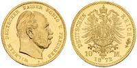 10 Mark 1872 A Deutsches Kaiserreich, Preußen Wilhelm I. (1858/61-1888)... 775.50 £ 1000,00 EUR