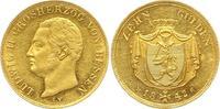 10 Gulden - sehr seltener Jahrgang 1842 Hessen-Darmstadt, Großherzogtum... 2132.63 £ 2750,00 EUR