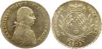 Konventionstaler - mit Signatur - RR 1803 Bayern, Kurfürstentum Maximil... 1645.10 £ 1950,00 EUR free shipping