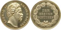 Silbermedaille ohne Jahr Bayern, Königreich Ludwig II. (1864-1886): Sil... 174.49 £ 225,00 EUR