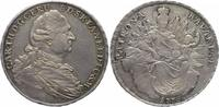 Konventionstaler (Madonnentaler) 1778 Bayern, Kurfürstentum Karl Theodo... 168.73 £ 200,00 EUR  +  6.33 £ shipping