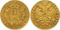 Dukat 1730 Hamburg, Freie und Hansestadt mit Titel Kaiser Karls VI. Pra... 1944.88 £ 2500,00 EUR free shipping