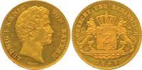Dukat 1848 Bayern, Königreich Ludwig I. (1825-1848) Prachtexemplar, min... 3111.81 £ 4000,00 EUR free shipping