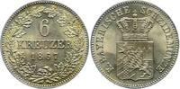 6 Kreuzer - R 1867 Bayern, Königreich Ludwig II. (1864-1886) Prachtexem... 489.56 £ 600,00 EUR  +  10.20 £ shipping