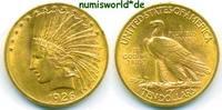 10 Dollars 1926 USA USA - 10 Dollars - 1926 winz. Rf. - vz  660.63 £ 774,00 EUR  +  14.51 £ shipping