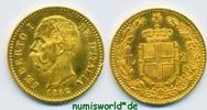 20 Lire 1882 Italien Italien - 20 Lire - 1882 vz+  244.11 £ 286,00 EUR  +  14.51 £ shipping