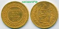 20 Francs 1893 Tunesien Tunesien - 20 Francs - 1893 vz  224.48 £ 263,00 EUR  +  14.51 £ shipping