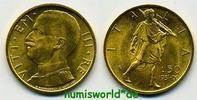 50 Lire 1931 Italien Italien - 50 Lire - 1931 f. Stg  422.49 £ 495,00 EUR  +  14.51 £ shipping