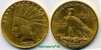 10 Dollars 1932 USA USA - 10 Dollars - 1932 vz+  685.38 £ 803,00 EUR  +  14.51 £ shipping