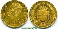 20 Lira 1882 Italien Italien - 20 Lira - 1882 vz+  243.25 £ 285,00 EUR  +  14.51 £ shipping