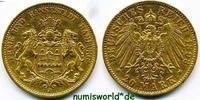 20 Mark 1893  Hamburg - 20 Mark - 1893 ss+  305.56 £ 358,00 EUR  +  14.51 £ shipping