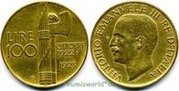 100 Lire 1923 Italien Italien - 100 Lire - 1923 vz  1783.86 £ 2090,00 EUR  +  14.51 £ shipping