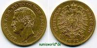 10 Mark 1872  Sachsen - 10 Mark - 1872 ss+  314.14 £ 385,00 EUR  +  13.87 £ shipping