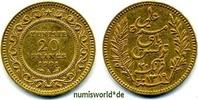 20 Francs 1901 Tunesien Tunesien - 20 Francs - 1901 vz  239.84 £ 281,00 EUR  +  14.51 £ shipping