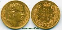 20 Dinara 1882 Serbien Serbien - 20 Dinara - 1882 vz  404.57 £ 474,00 EUR  +  14.51 £ shipping
