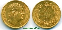 20 Dinara 1882 Serbien Serbien - 20 Dinara - 1882 vz+  417.37 £ 489,00 EUR  +  14.51 £ shipping