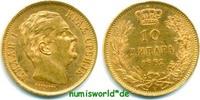 10 Dinara 1882 Serbien Serbien - 10 Dinara - 1882 vz+  227.89 £ 267,00 EUR  +  14.51 £ shipping