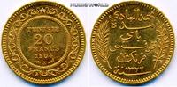 20 Francs 1904 Tunesien Tunesien - 20 Francs - 1904 vz  239.84 £ 281,00 EUR  +  14.51 £ shipping