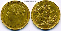 1 Sovereign 1878 Großbritannien Großbritannien - 1 Sovereign - 1878 vz  340.56 £ 399,00 EUR  +  14.51 £ shipping