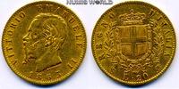 20 Lire 1863 Italien Italien - 20 Lire - 1863 ss  /  vz  230.45 £ 270,00 EUR  +  14.51 £ shipping
