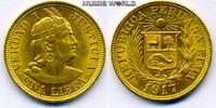 1 Libra 1917 Peru Peru - 1 Libra - 1917 vz  320.07 £ 375,00 EUR  +  14.51 £ shipping