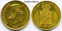 10000 Reis 1853 Brasilien Brasilien - 10000 Reis - 1853 vz+  853.52 £ 1000,00 EUR  +  14.51 £ shipping