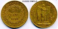 20 Francs 1897 Frankreich Frankreich - 20 Francs - 1897 ss  /  vz  244.96 £ 287,00 EUR  +  14.51 £ shipping
