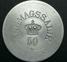 50 Øre Angmassalik token Nd (1905) Greenla...
