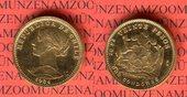 20 Pesos 2 Condores 1964 Chile Goldmünze v...