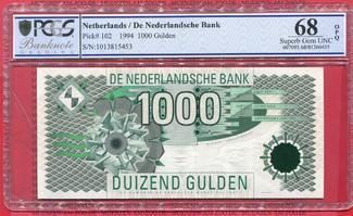 1000 Gulden Duizend 1994 Niederlande Holla...