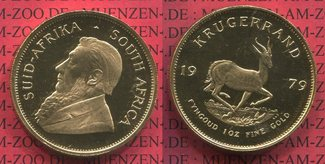 1 Unze Krügerrand Gold 1979 Südafrika, Sou...