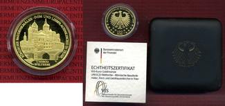 Deutschland BRD Germany FRG 100 Euro Gold ...