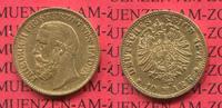 10 Mark Goldmünze 1876 Baden Baden 10 Mark Gold Grossherzog Friedrich 1... 221.37 £ 269,00 EUR  +  7.00 £ shipping