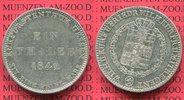 Taler 1842 Hessen-Kassel Hessen Kassel, Taler 1842, Kurf. Wilh. II. Sil... 53.85 £ 70,00 EUR