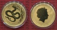 100 Dollars Lunar II 1 Unze Gold 2013 Australien, Australia Australien ... 1083.84 £ 1399,00 EUR