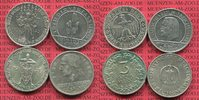 Weimarer Republik Deutsches Reich Lot 4 x 3 Mark gedenkmünzen Commemorativ Weimarer Republik 3 und 5 Mark Rheinlandfeier 1925  Silber