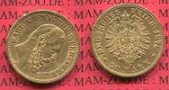 20 Mark Goldmünze 1876 Württemberg State of German Empire Württemberg 2... 370.33 £ 450,00 EUR  +  7.00 £ shipping