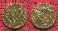 2 1/2 Dollars Indian Head Goldmünze 1909 USA USA 2 1/2 Dollars 1909 Gol... 253.12 £ 329,00 EUR