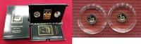 2 x 1000 Francs CFA Goldmünzen 2014 Gabun ...