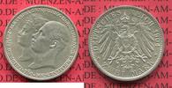 2 Mark 1904 Mecklenburg Schwerin Mecklenburg Schwerin, 2 Mark 1904, Hoc... 73.09 £ 95,00 EUR