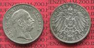 2 Mark Silber Gedenkmünze 1904 Sachsen, Saxony German Empire Sachsen 2 ... 58.67 £ 75,00 EUR  +  6.65 £ shipping